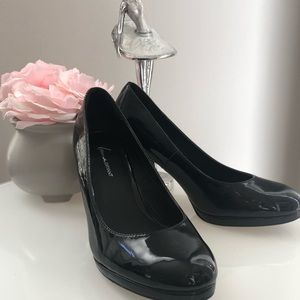 Lane Bryant Patent Leather heels size 10W